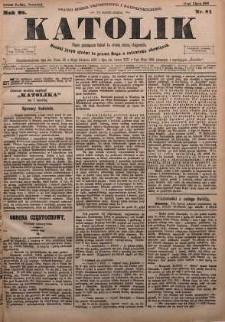 Katolik, 1895, R. 28, nr 81