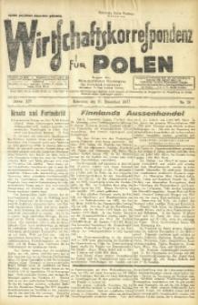 Wirtschaftskorrespondenz für Polen, 1937, Jg. 14, nr 36