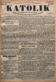 Katolik, 1895, R. 28, nr 100