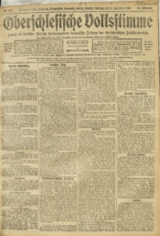 Oberschlesische Volksstimme, 1910, Jg. 36, Nr. 222