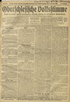Oberschlesische Volksstimme, 1910, Jg. 36, Nr. 263
