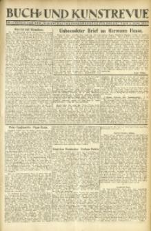 """Buch- und Kunstrevue. Gratisbeilage der """"Wirtschaftskorrespondenz für Polen"""", 1. Juni 1927"""