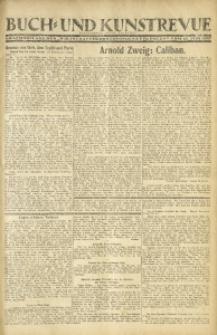 """Buch- und Kunstrevue. Gratisbeilage der """"Wirtschaftskorrespondenz für Polen"""", 15. Juni 1927"""