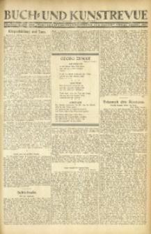 """Buch- und Kunstrevue. Gratisbeilage der """"Wirtschaftskorrespondenz für Polen"""", 13. August 1927"""