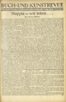 """Buch- und Kunstrevue. Gratisbeilage der """"Wirtschaftskorrespondenz für Polen"""", 1. Oktober 1927"""