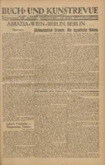 """Buch- und Kunstrevue. Gratisbeilage der """"Wirtschaftskorrespondenz für Polen"""", 13. Oktober 1928"""