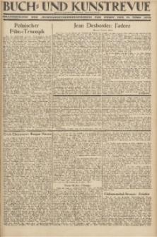 """Buch- und Kunstrevue. Gratisbeilage der """"Wirtschaftskorrespondenz für Polen"""", 23. März 1929"""
