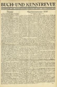"""Buch- und Kunstrevue. Gratisbeilage der """"Wirtschaftskorrespondenz für Polen"""", 11. Oktober 1930"""