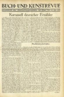 """Buch- und Kunstrevue. Gratisbeilage der """"Wirtschaftskorrespondenz für Polen"""", 27. Juli 1932"""
