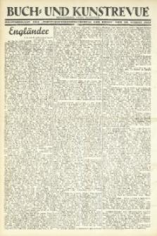 """Buch- und Kunstrevue. Gratisbeilage der """"Wirtschaftskorrespondenz für Polen"""", 30. August 1933"""