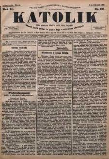Katolik, 1895, R. 28, nr 131