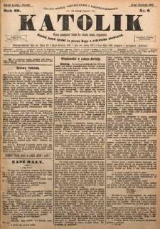 Katolik, 1896, R. 29, nr 6