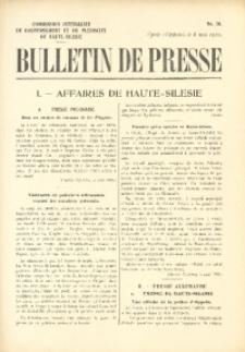 Bulletin de Presse, 1920, No. 78