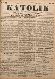 Katolik, 1896, R. 29, nr 54
