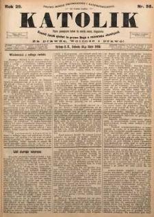 Katolik, 1896, R. 29, nr 58