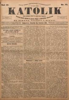 Katolik, 1896, R. 29, nr 70