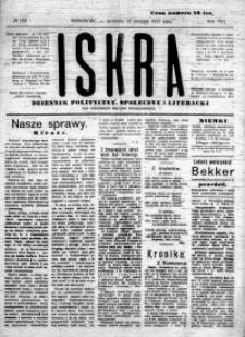 Iskra. Dziennik polityczny, społeczny i literacki, 1917, R. 8, nr 183