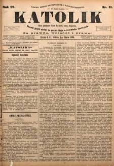 Katolik, 1896, R. 29, nr 81
