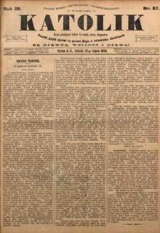 Katolik, 1896, R. 29, nr 87