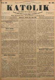 Katolik, 1896, R. 29, nr 88