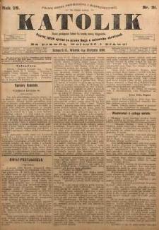 Katolik, 1896, R. 29, nr 91