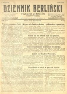 Dziennik Berliński, 1926, R. 30, nr 12