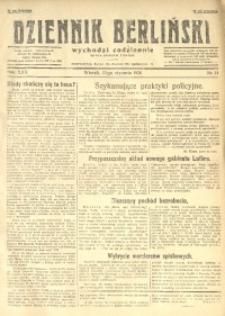 Dziennik Berliński, 1926, R. 30, nr 14