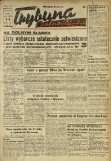 Trybuna Dolnośląska, 1947, R. 3, nr 4