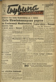 Trybuna Dolnośląska, 1947, R. 3, nr 36