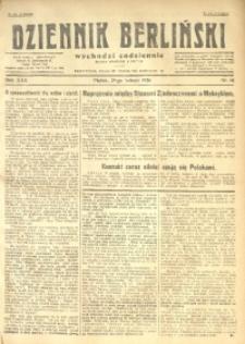 Dziennik Berliński, 1926, R. 30, nr 46