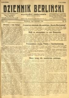 Dziennik Berliński, 1926, R. 30, nr 76