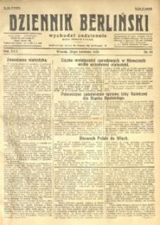 Dziennik Berliński, 1926, R. 30, nr 88