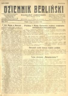 Dziennik Berliński, 1926, R. 30, nr 91