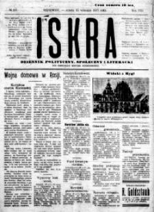 Iskra. Dziennik polityczny, społeczny i literacki, 1917, R. 8, nr 210
