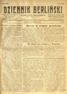 Dziennik Berliński, 1926, R. 30, nr 125