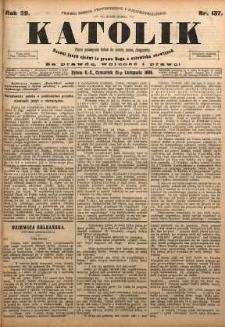 Katolik, 1896, R. 29, nr 137