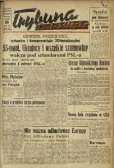 Trybuna Dolnośląska, 1947, R. 3, nr 148