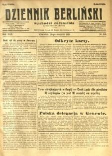 Dziennik Berliński, 1926, R. 30, nr 194