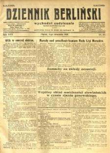 Dziennik Berliński, 1926, R. 30, nr 201