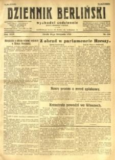 Dziennik Berliński, 1926, R. 30, nr 258