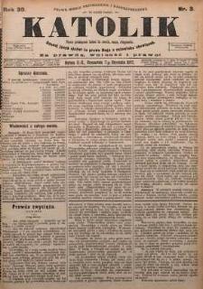 Katolik, 1897, R. 30, nr 3