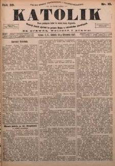Katolik, 1897, R. 30, nr 10