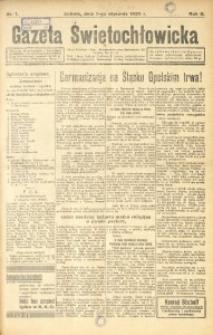 Gazeta Świętochłowicka, 1935, R. 2, nr 1
