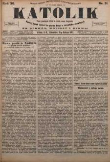 Katolik, 1897, R. 30, nr 21
