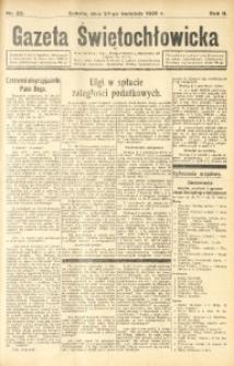Gazeta Świętochłowicka, 1935, R. 2, nr 22