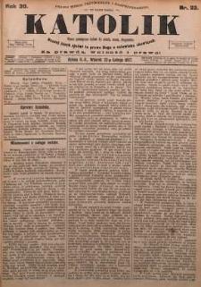 Katolik, 1897, R. 30, nr 23