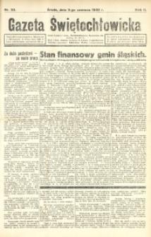 Gazeta Świętochłowicka, 1935, R. 2, nr 33