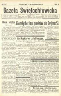 Gazeta Świętochłowicka, 1935, R. 2, nr 50