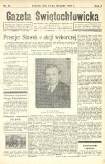 Gazeta Świętochłowicka, 1935, R. 2, nr 51