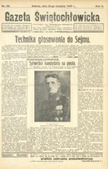 Gazeta Świętochłowicka, 1935, R. 2, nr 52